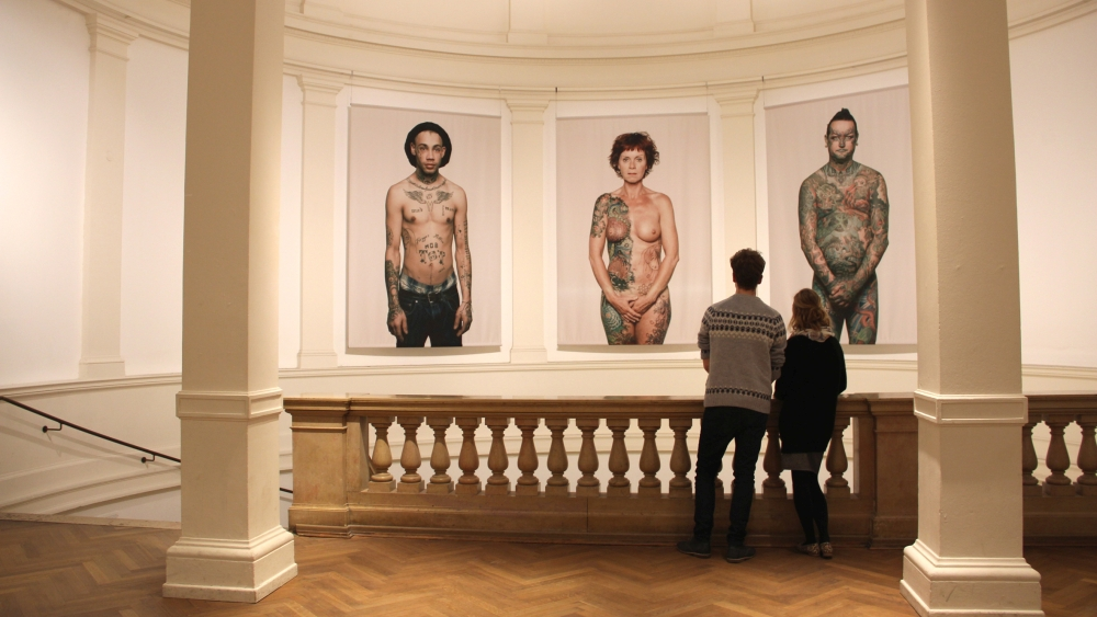 """Why I love Tattoos"" von Ralf Mitsch, 2014 - (c) MKG Hamburg"