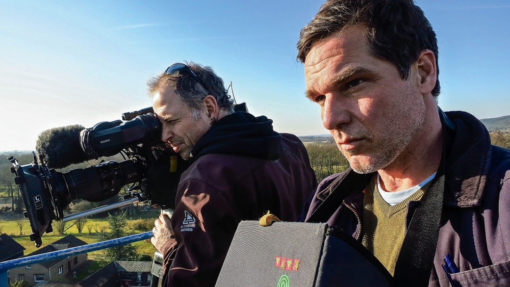 Boris Mahlau (Kamera) und Hauke Wendler (Regie). / Foto: Torsten Reimers © Pier53
