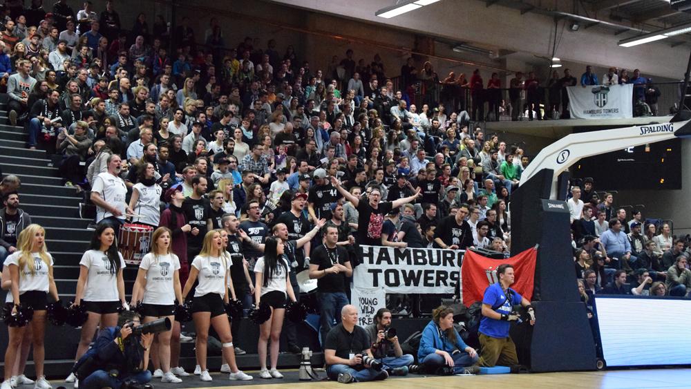 Die Fans der Towers sorgten für großartige Play-Off-Stimmung