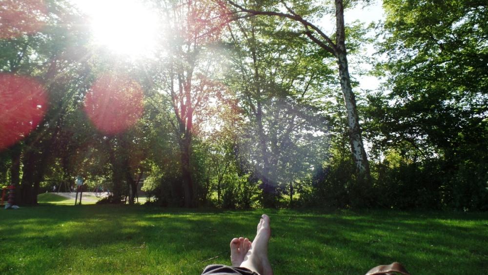 Ein hoch auf den sommer elbmelancholie - Inga zimmermann ...