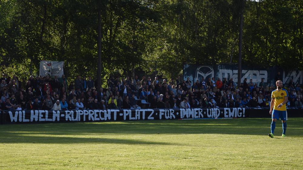 Das Ende einer Ära: Vergessen werden Fans und Spieler ihren Wilhelm-Rupprecht-Platz wohl nie