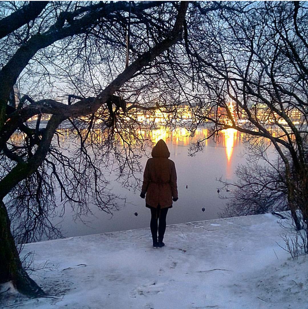 """#hamburglove: Mein einziges """"Selfie"""" in meinem Instagram-Account."""