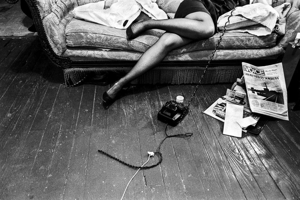 Ken Schles, Drowned In Sorrow, 1984 © Ken Schles. Aus der Ausstellung Ken Schles, Jeffrey Silverthorne, Miron Zownir im Haus der Photographie/Deichtorhallen