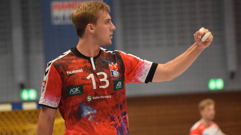 Niklas Weller bejubelt einen erfolgreichen Angriff